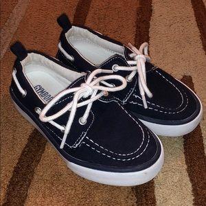 Gymboree Navy Boat Shoes